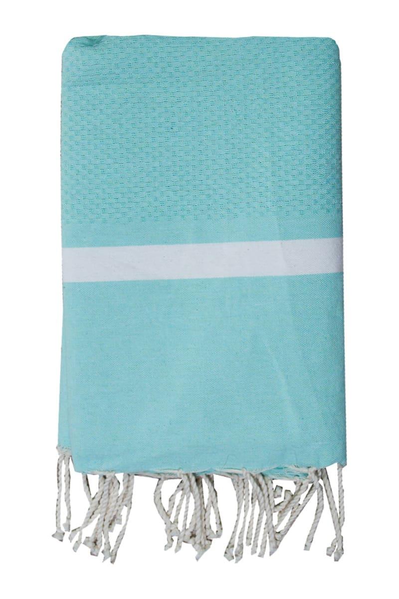 Beach Towel - Hammam Mellissa 100x200cm Light Green - Le Comptoir De La Plage
