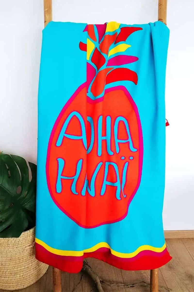Beach Towel Hawaii 90x170cm -