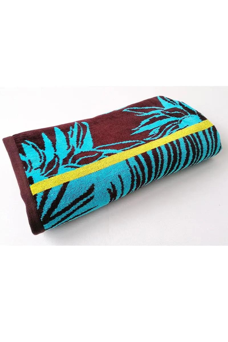 Beach Towel Hortus 100% Cotton 90x170cm - Le Comptoir De La Plage