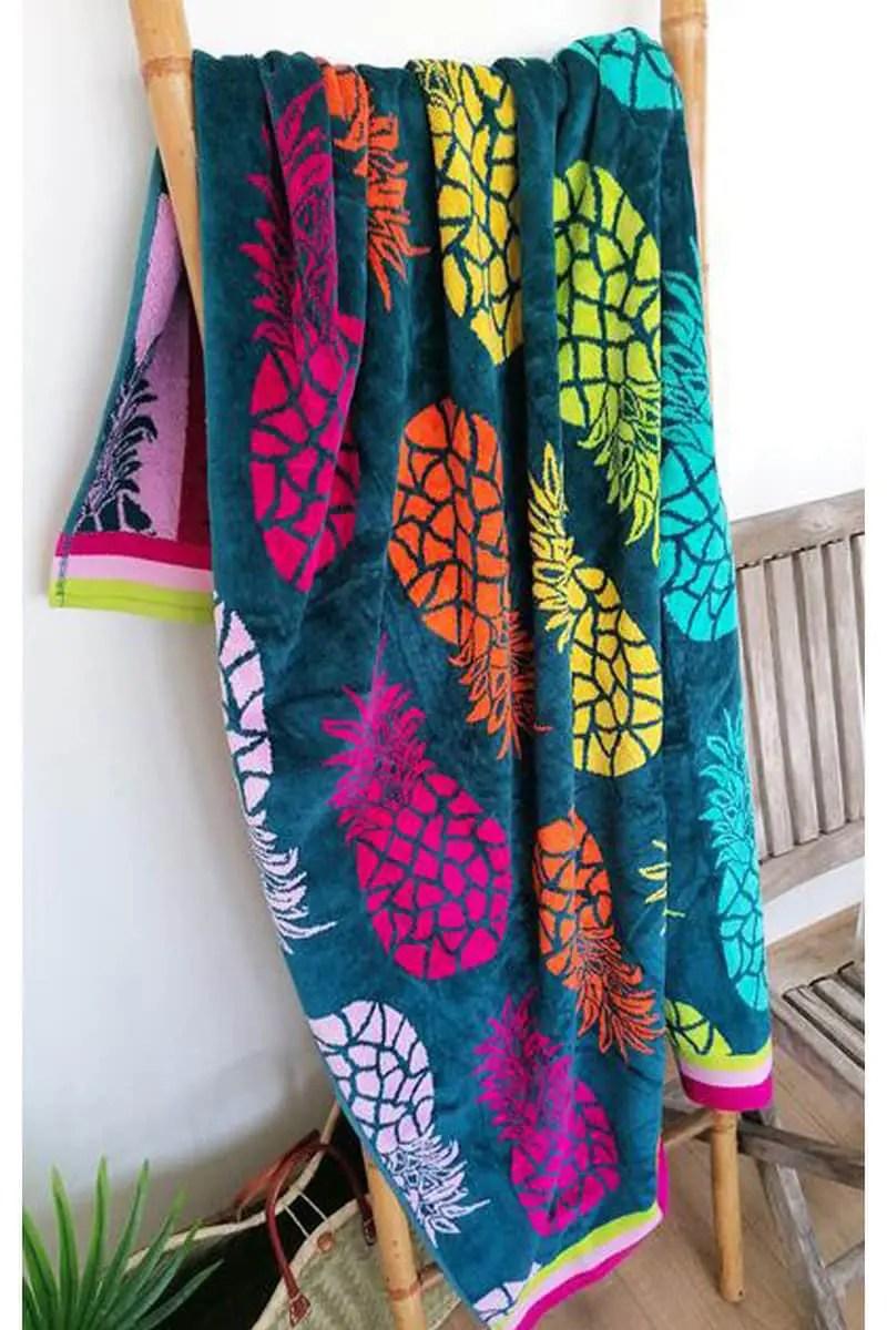 Beach Towel Ipala 100x175cm 100% Cotton - Le Comptoir De La Plage