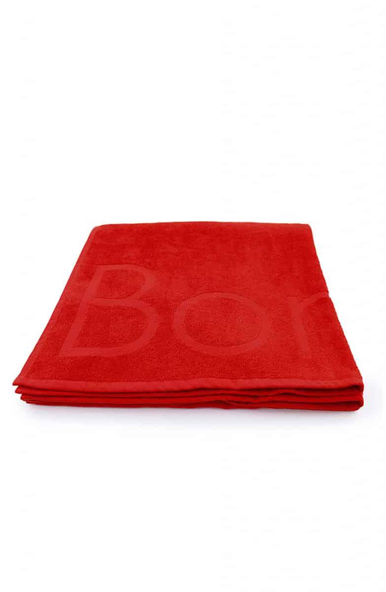 Beach Towel Red 70x140cm - Bonatti