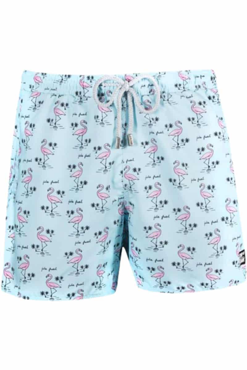 Ανδρικό Μαγιό Shorts John Frank Flamingo - John Frank