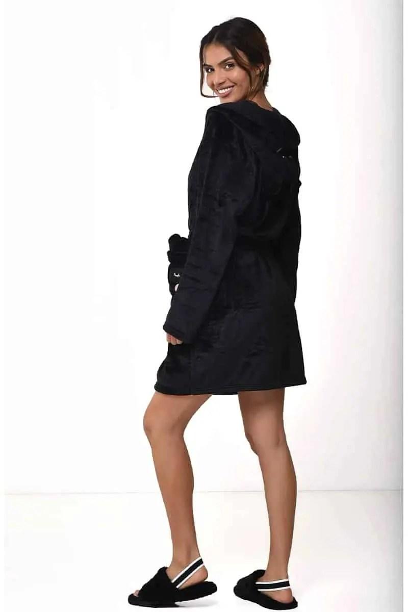 Γυναικεία Ρόμπα Dalia-J21 Black - Bonatti