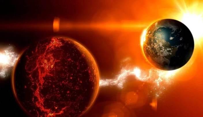 Texas took two mysterious sun on the horizon