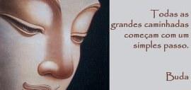O primeiro passo, Buda mensagem
