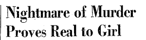 Pasadena Independent December 8 1959 perelson los feliz Nightmare of Murder headline