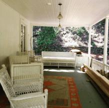 Mme. Modjeska's porch.