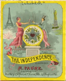 The Independence electrized liqueur 1891