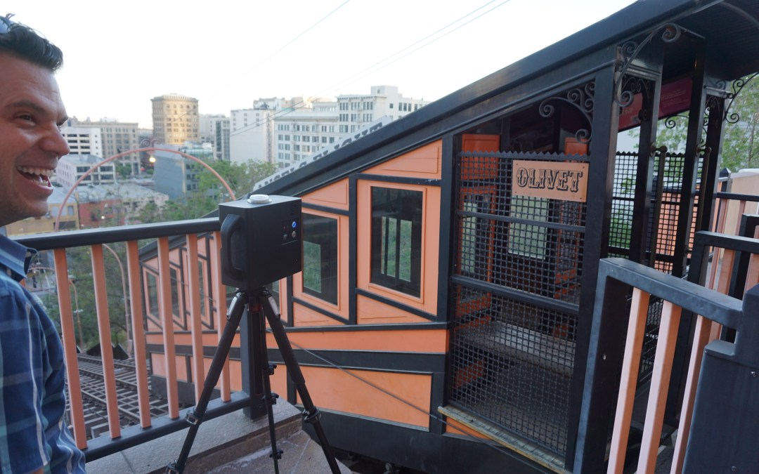 While Los Angeles Waits: A Virtual 3-D Tour of Angels Flight Railway