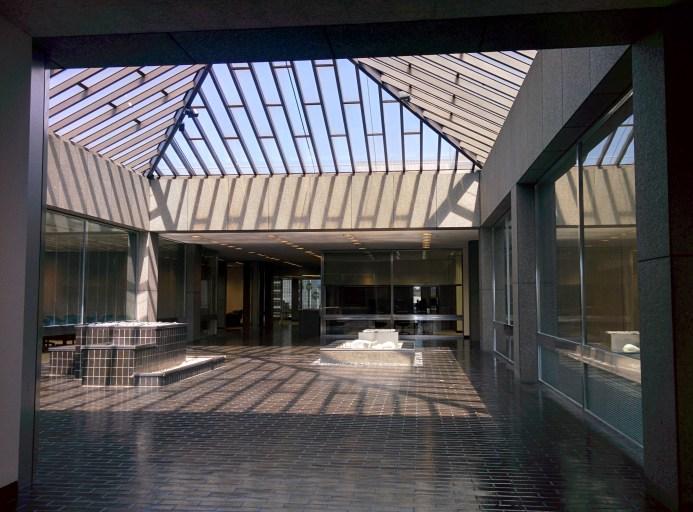 Peirera corporate HQ atrium