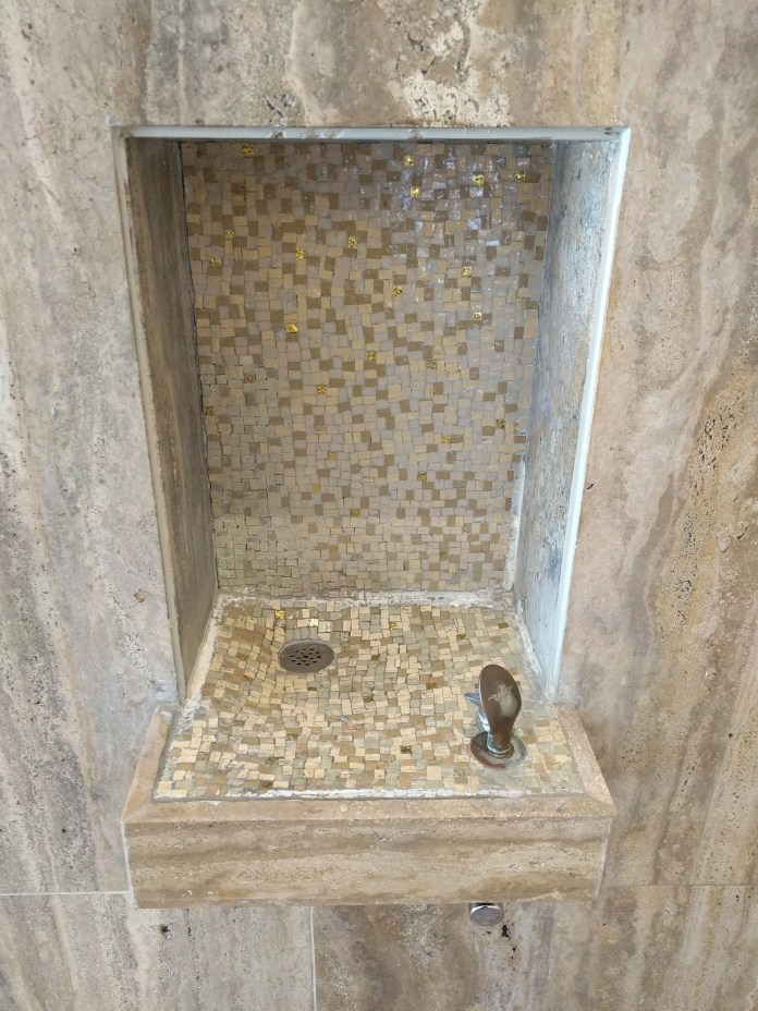 scottish rite tile fountain
