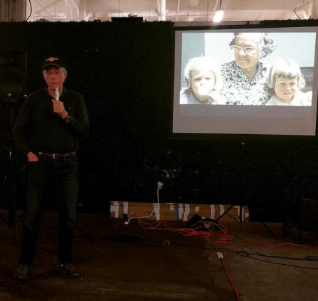 Gordon Pattison recalls Bunker Hill friends.