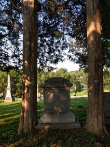 Memorial trees for a husband and wife