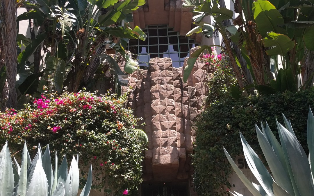 Lloyd Wright's Sowden House, 1920s Hollywood Landmark & Black Dahlia Suspect's Lair