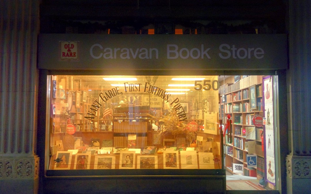 A Last and Lasting Visit To Caravan Book Store – in 3-D!