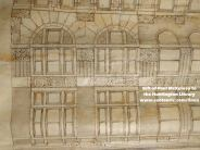 Detail of windows on Potomac Building by Curlett-Eisen-Cuthbertson (200 block of Fort Street, later Broadway)