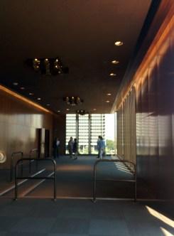Hallway Times-Mirror HQ