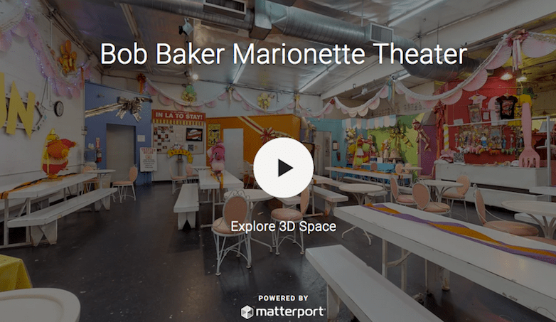 3-D Tour of the Original Bob Baker Marionette Theater