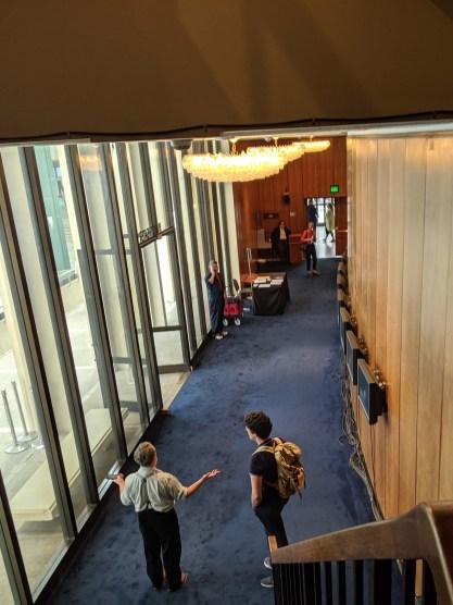 Foyer of Bing Theater