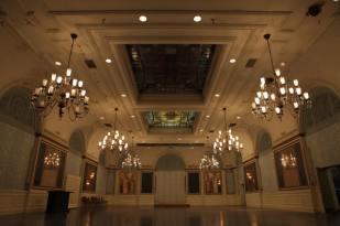 Palm Court, Alexandria Hotel, circa 2014