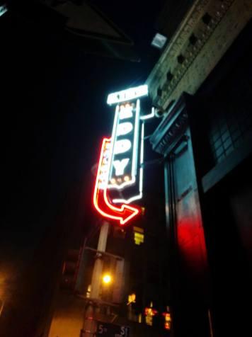 King Eddy Saloon neon, circa 2014