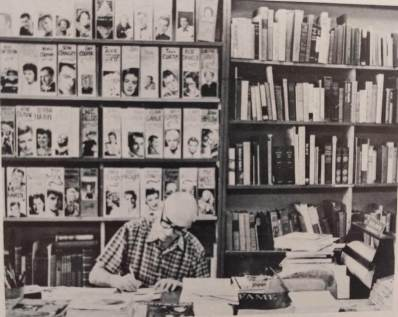 Milt Luboviski, who with his wife, Git, was a long time proprietor of the Larry Edmunds bookshop