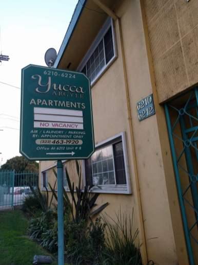 Yucca Apts, where John Walsh lived since 1978