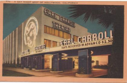 Earl Carrol Theatre