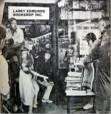 """Jeanne Moreau and Donald Sutherland ready to film a scene from the 1970 Paul Mazursky film, """"Alex In Wonderland,"""" in front of the Larry Edmunds Bookshop"""