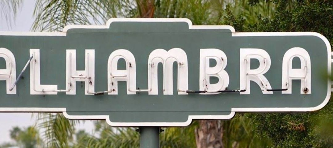 Help Protect Alhambra's Iconic Neon Signs From Clutter and Blight