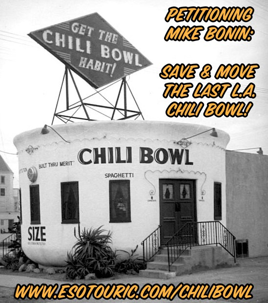 Save and Move The Last Chili Bowl Restaurant in Los Angeles
