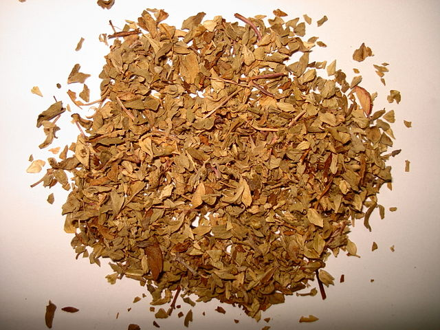 Dried Oregano is used in many types of soup