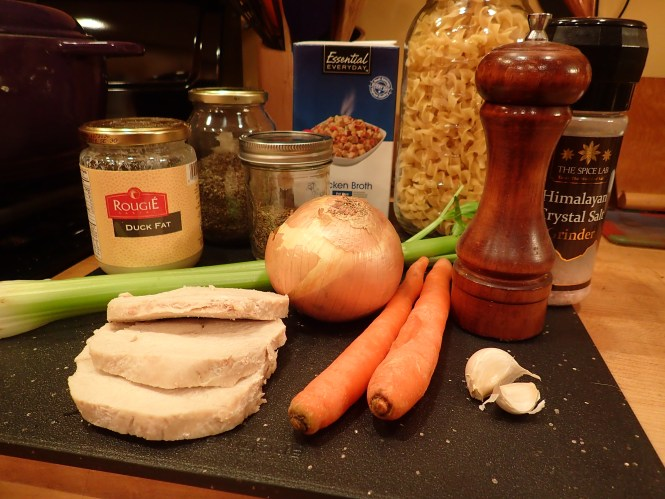 Easy Turkey Noodle Soup Ingredients