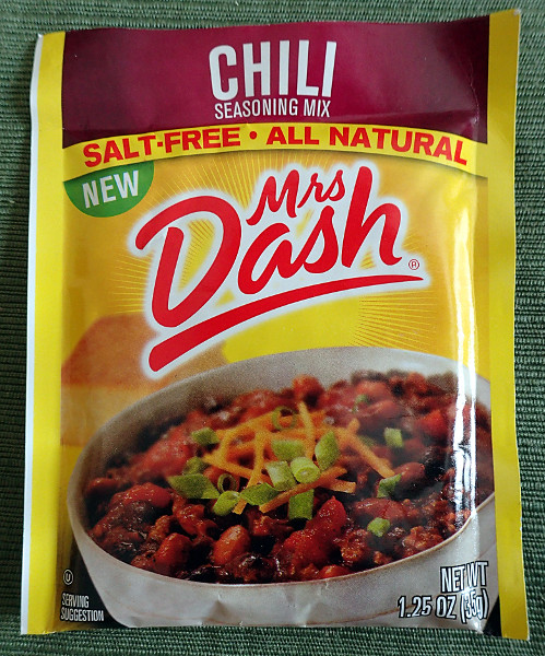 Mrs. Dash Chili Seasoning Mix