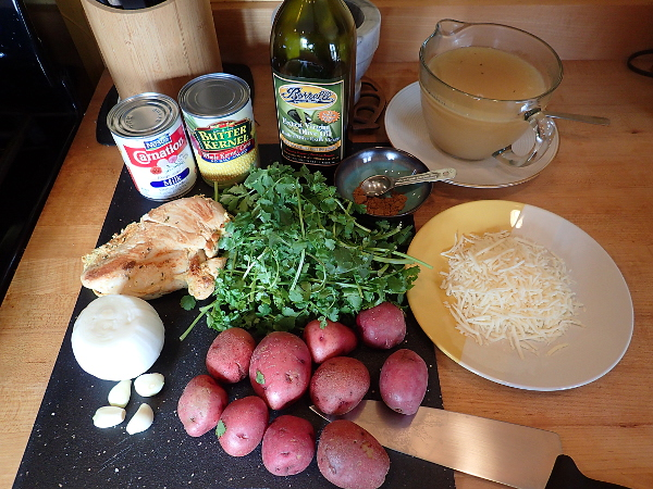 Chupe Criollo Ingredients