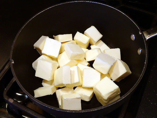 1 pound butter cubes