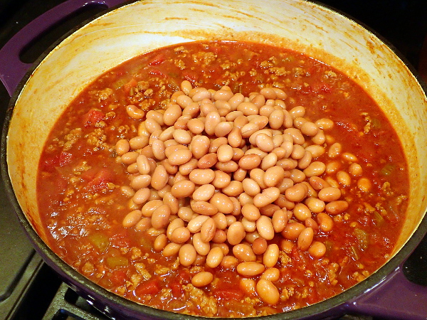 Add pinto beans