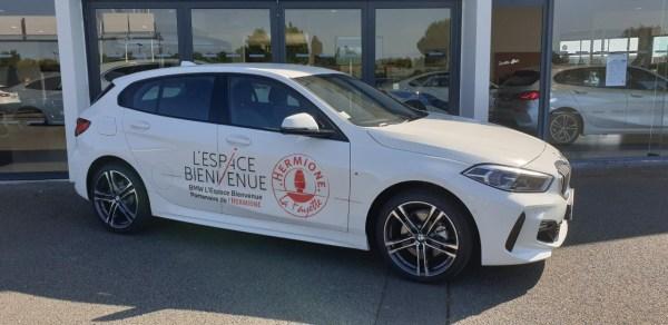 BMW l'Espace Bienvenue Rochefort partenaire de l'Hermione