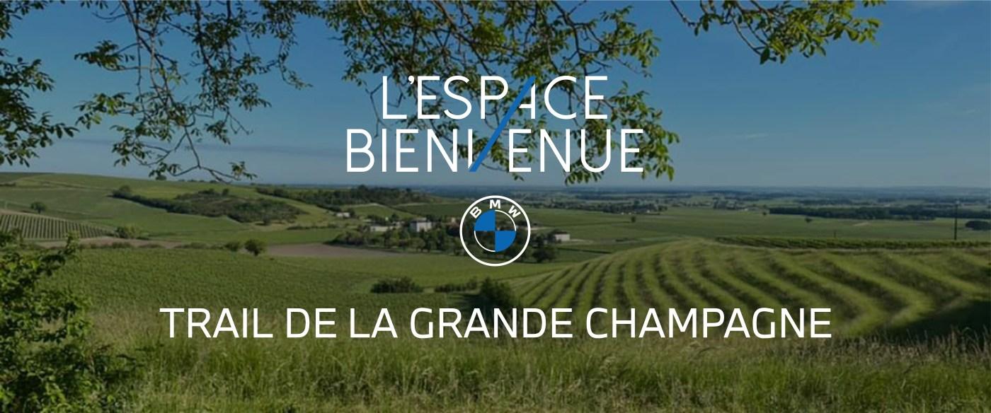 BMW L'Espace bienvenue partenaire Trail de Grande Champagne