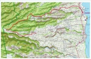 Carte pour le parcours Sainte-Marie_Neuf-château