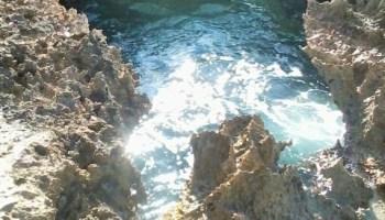 La côte de la Pointe des châteaux