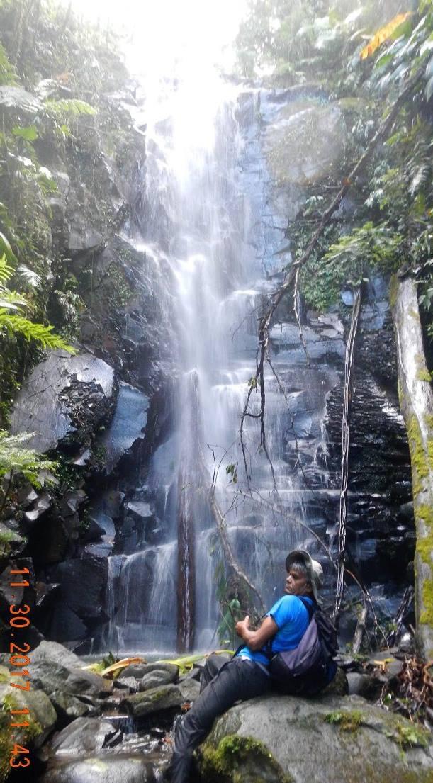 Cascade de la rivière palmiste a Petit-Bourg