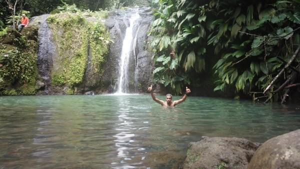 Vue de la cascade