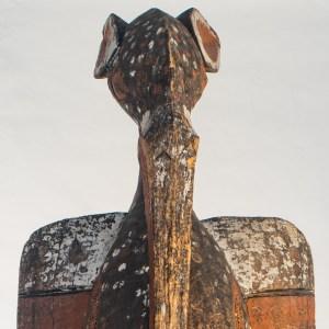 Art Africain, grand Calao