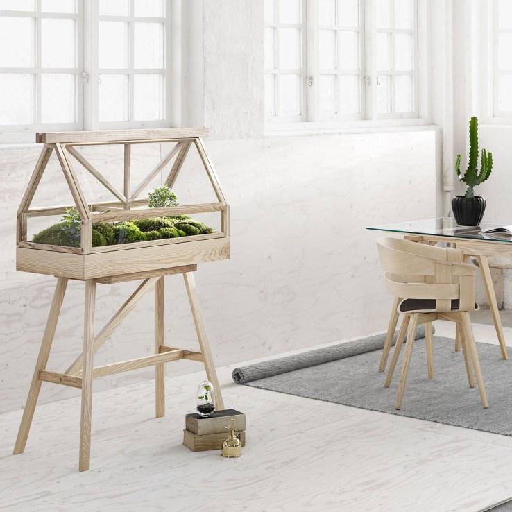 Design House Stockholm Greenhouse terrarium wick stuhl Ambiente