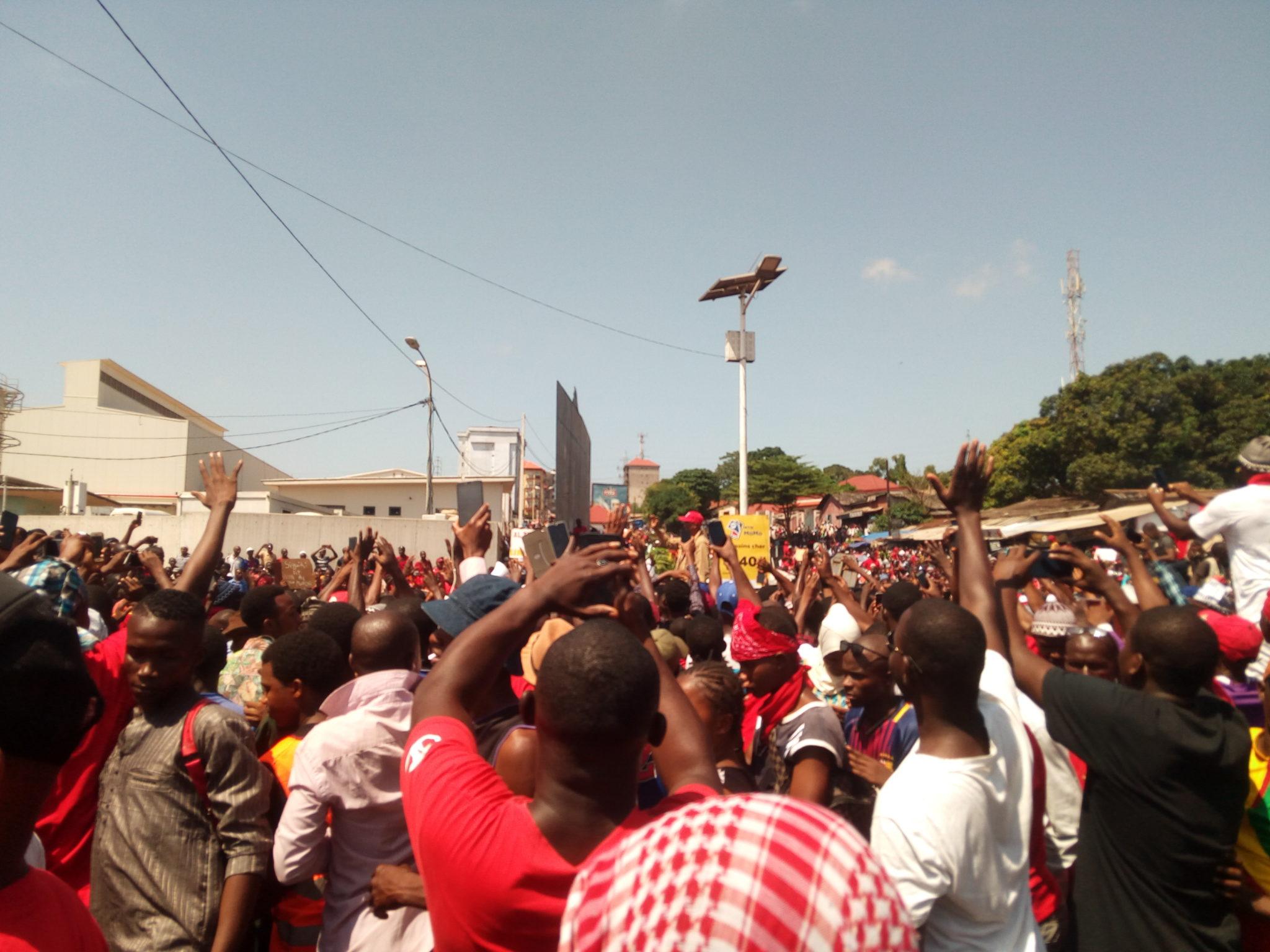 Guinée : nouvelle mobilisation contre le troisième mandat à Conakry