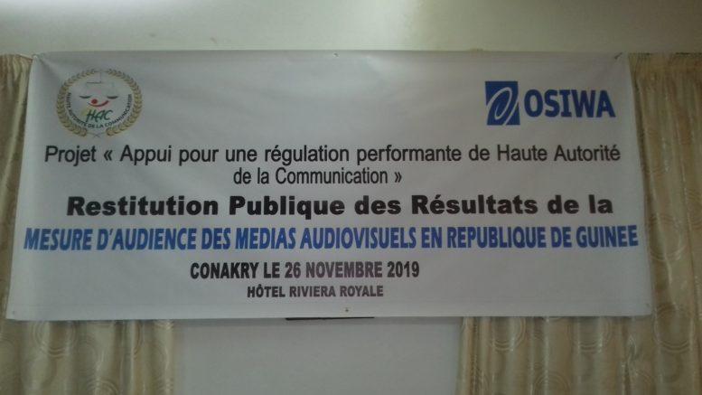 HAC / OSIWA : HADAFO MEDIAS sur le toît des médias en guinée