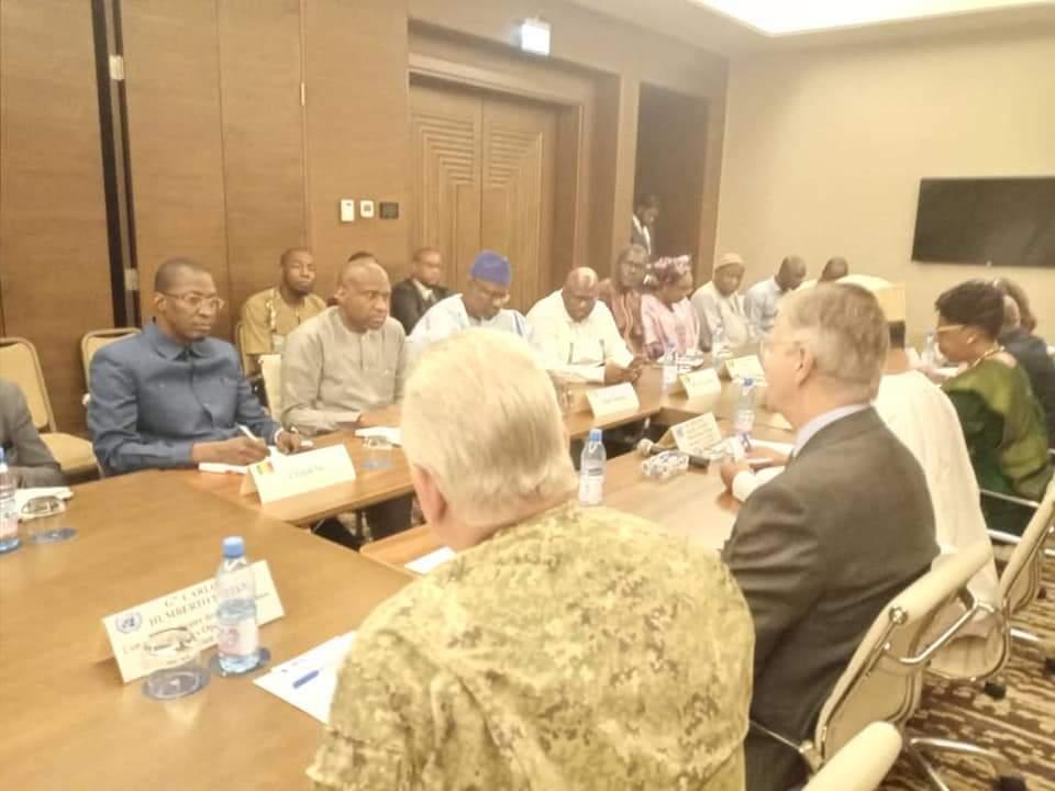 Rencontre entre la Minusma et les nations unies : Moussa Mara prend part.