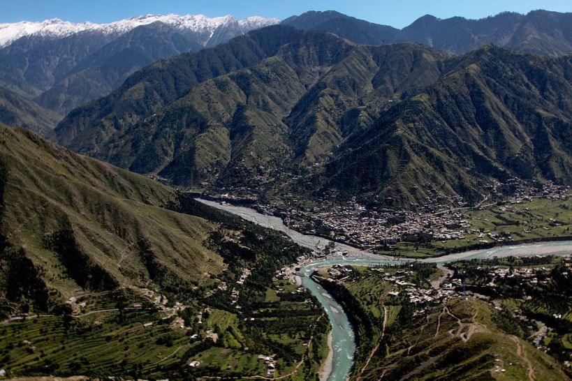 El valle de Swat en Pakistán. cc IsafMedia