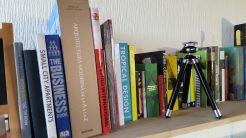 libros y repisa diseño interno costa rica